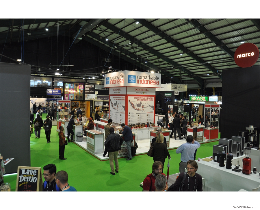 ... and another one. Lots of big stands!