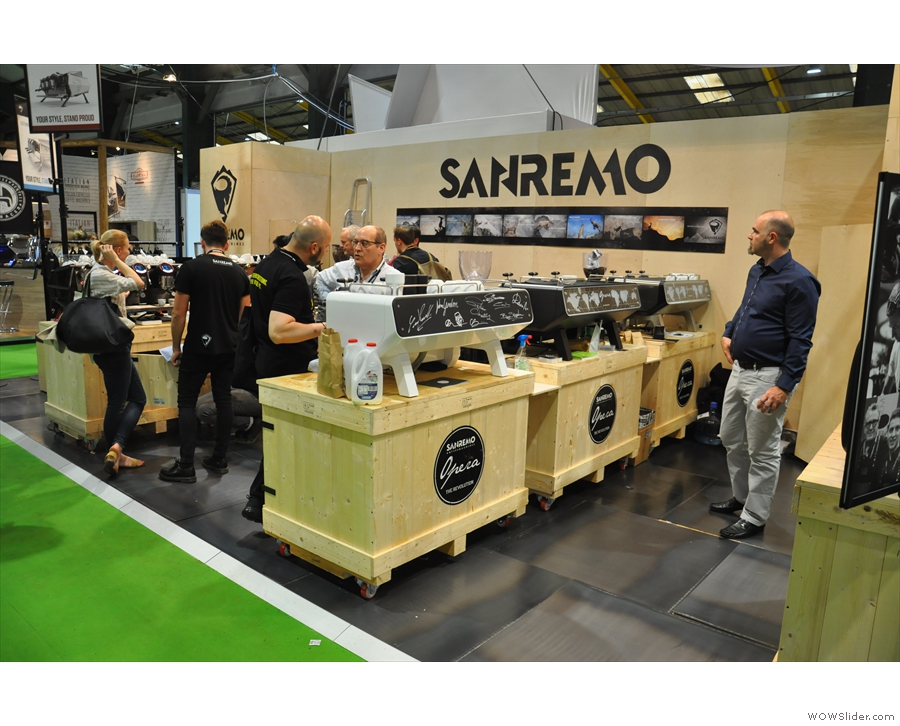 ... and here's Sanremo. It wasn't always this easy to get photos of the other stands.