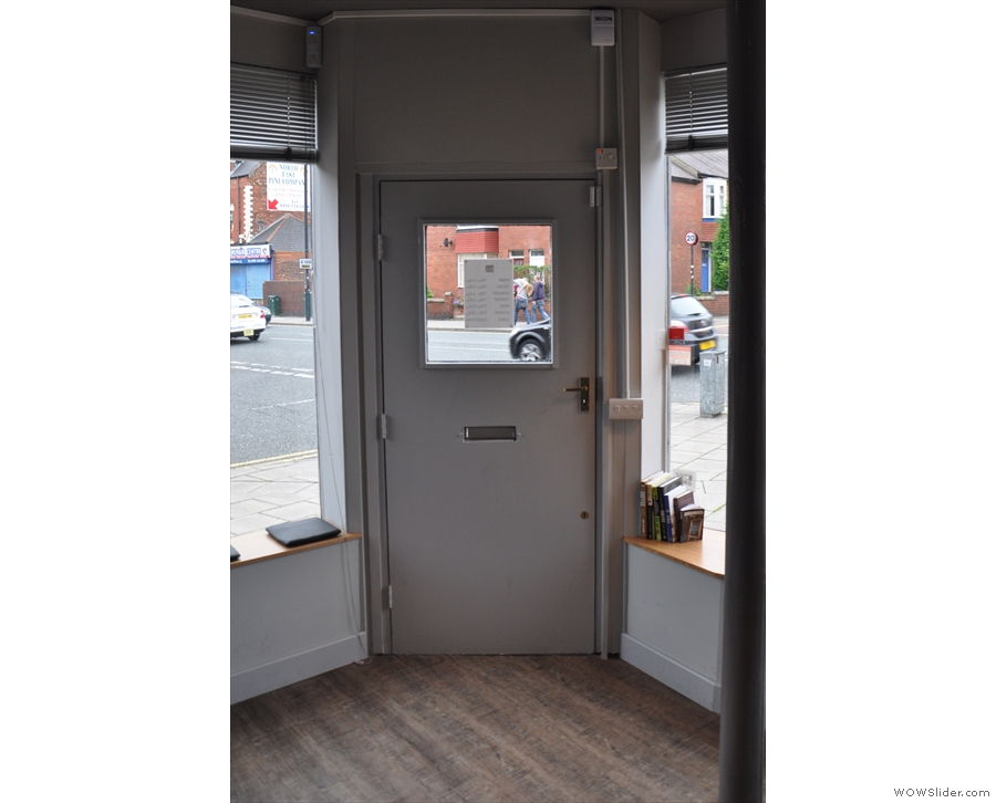 Talking of which, here is the door. Very important when it comes time to leave :-)