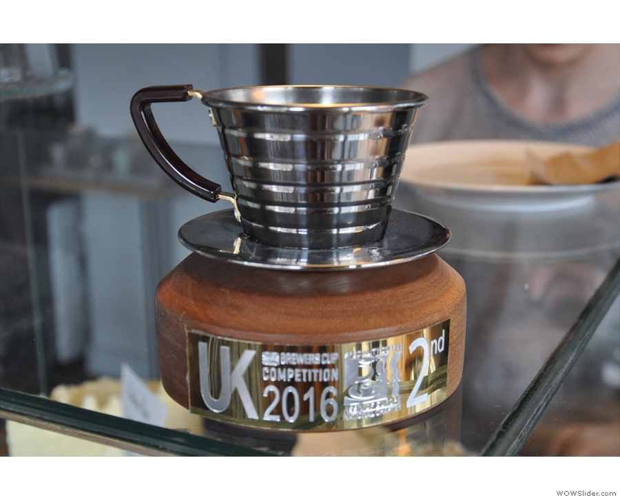 This was on display when I returned in 2016, Alison having fnished 2nd in the Brewers Cup.