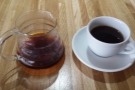 ...and the V60, which made this lovely coffee. Aeropress & Chemex are also options.