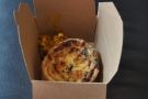 I also had a Homity Pie (a vegetable pie) for lunch...