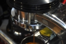Lovely espresso extraction.