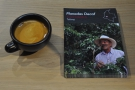 And here's my Kaffeeform cup with the farmer, who is from Colombia.
