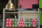 For fans of the old fixtures and fittings, the illuminated Beany sign is still going strong...