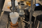 ... or through the filter coffee part of the Modbar.