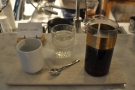 ... and here's a filter coffee which I had on a previous visit.