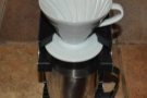 ... and then obtained various pour-over methods, such as the V60...
