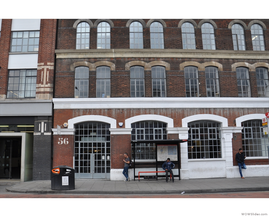 Lyle's is in the Tea Building, on Shoreditch High St, conveniently hidden behind the bus stop.