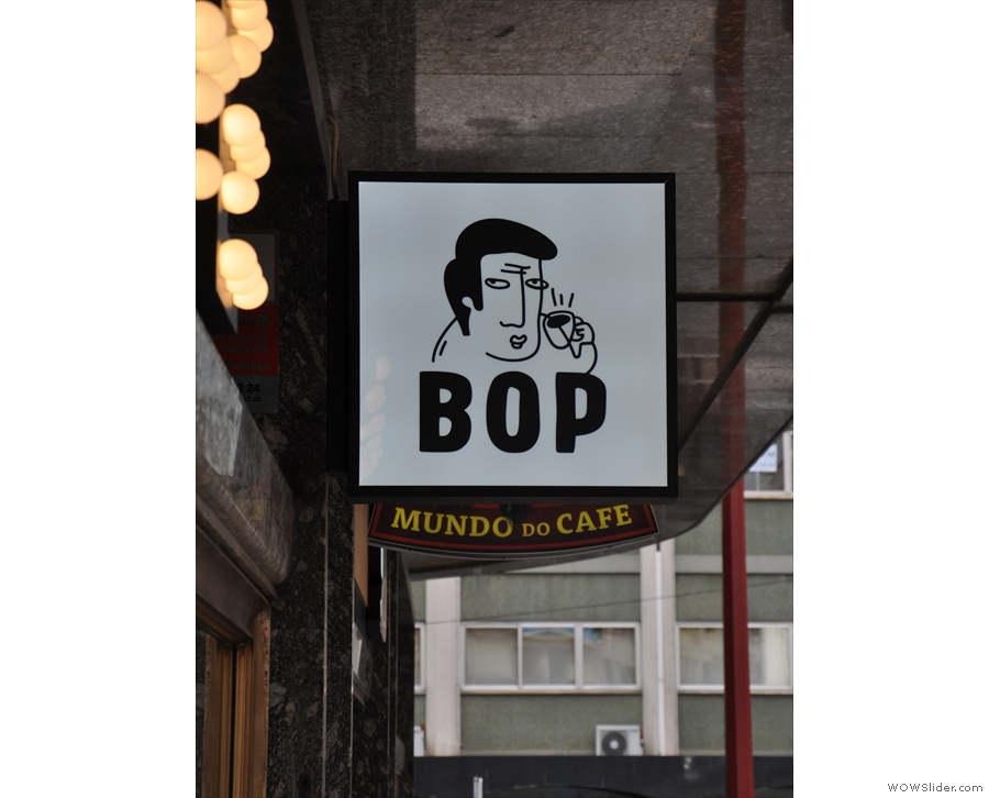 The helpful sign is the only indication that you've actually reached Bop though.