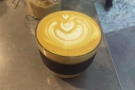On Tuesday, I was back for another flat white...