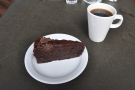 And, since this is Bakesmiths, there has to be cake. And a cup of filter coffee.