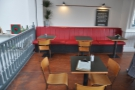 I do like the red bench seat though, which is directly above the counter.