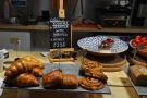 ... including pastries and Greek Yoghurt Granola.