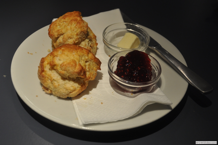 However, they were very fine scones!