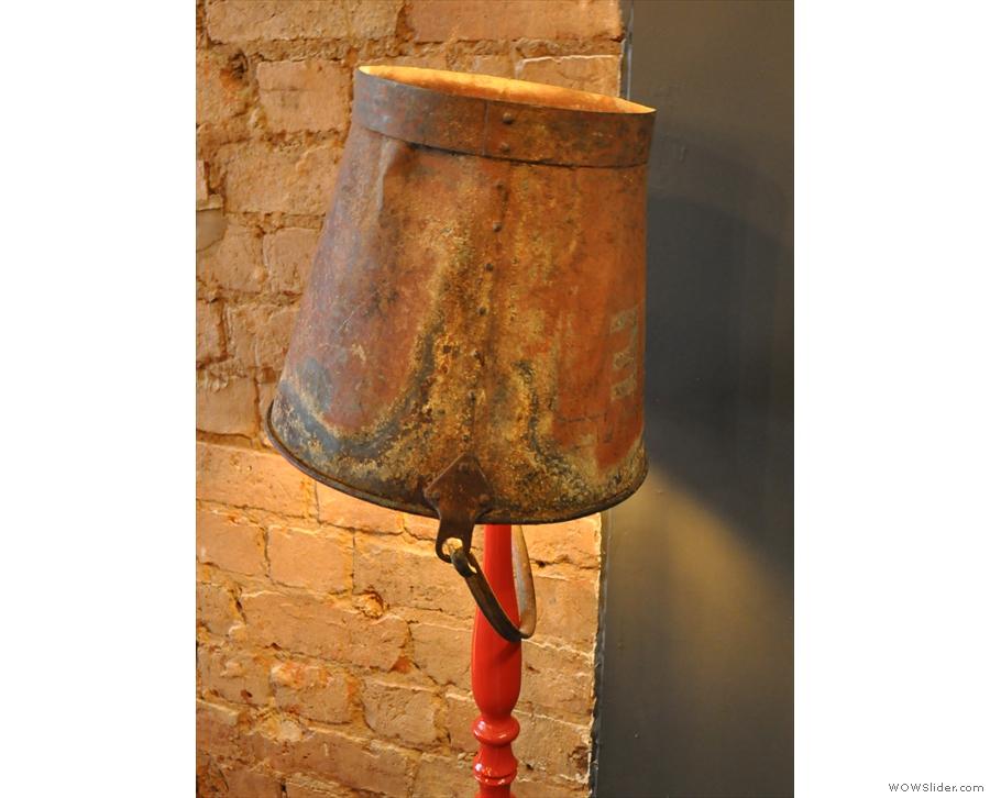 Interesting lampshade.