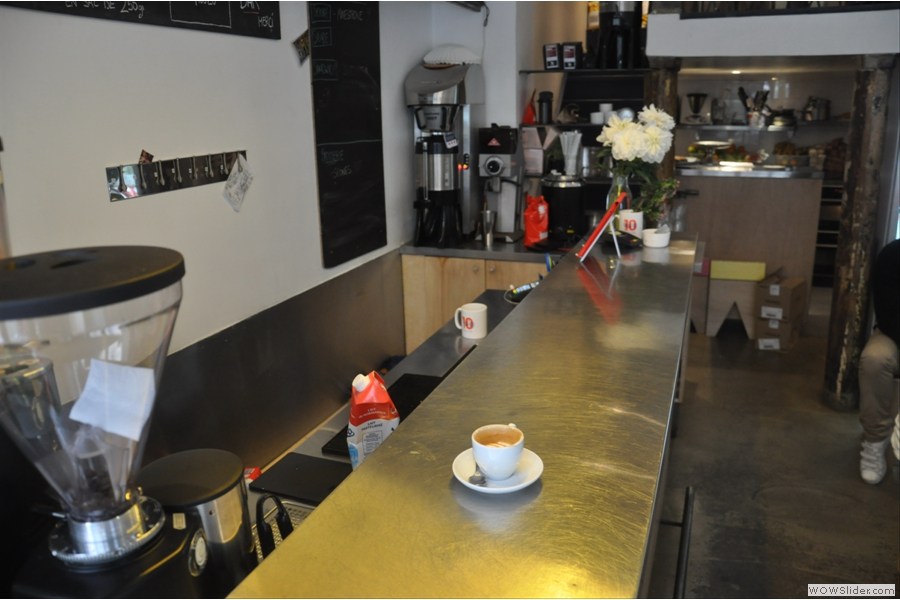 Ten Belles, great coffee, but wouldn't have been out of place in the heart of London or New York