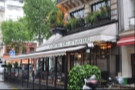 At the other end of the scale, Cafe de Flore, a grand-daddy of the Paris cafe scene on the Left Bank.