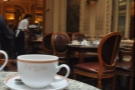 And also at the other end of the scale, Angelina, a grand Salon de The, combining elegance with good coffee.