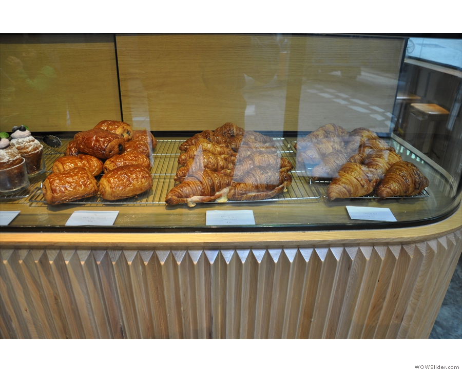 There are some traditional-looking pastries on the right...