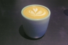 I started off my last day in Hong Kong with a flat white, served in a handleless cup.