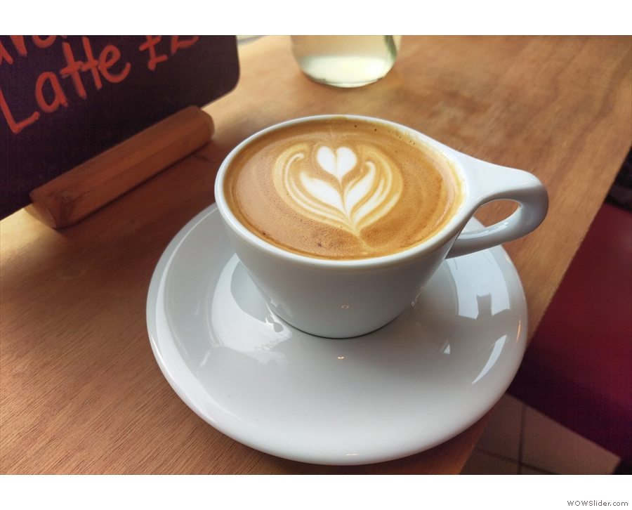 What better way to start 2016 than with a flat white at Silhouette in Hackney?
