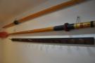 More family memorabilia. An oar from a Cambridge eight rowing team.