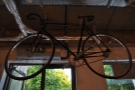 One of the vintage bikes in detail.
