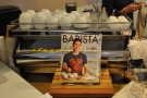 While I was there, Barista Magazine had pride of place by the espresso machine...