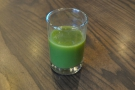 After some confusion over what coffee was on, I was offered a glass of green to compensate.