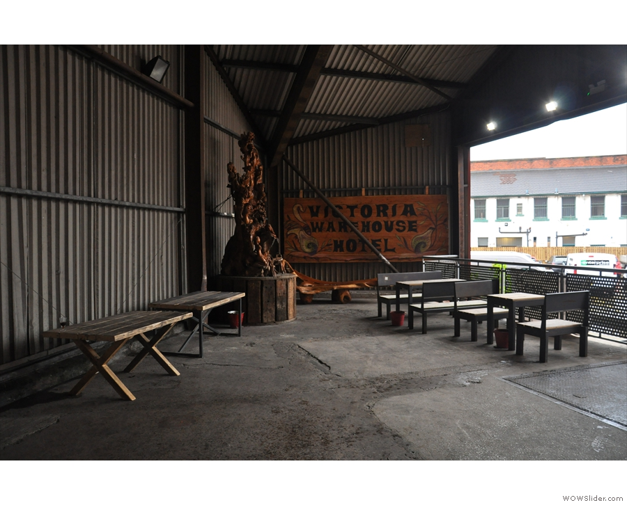 The Victoria Warehouse, home, for the 2nd year running, of the Manchester Coffee Festival.