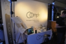 Next, the Oomph, a new concept in coffee-making, which was launched at the Festival.