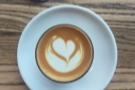 ... and here's my cortado.