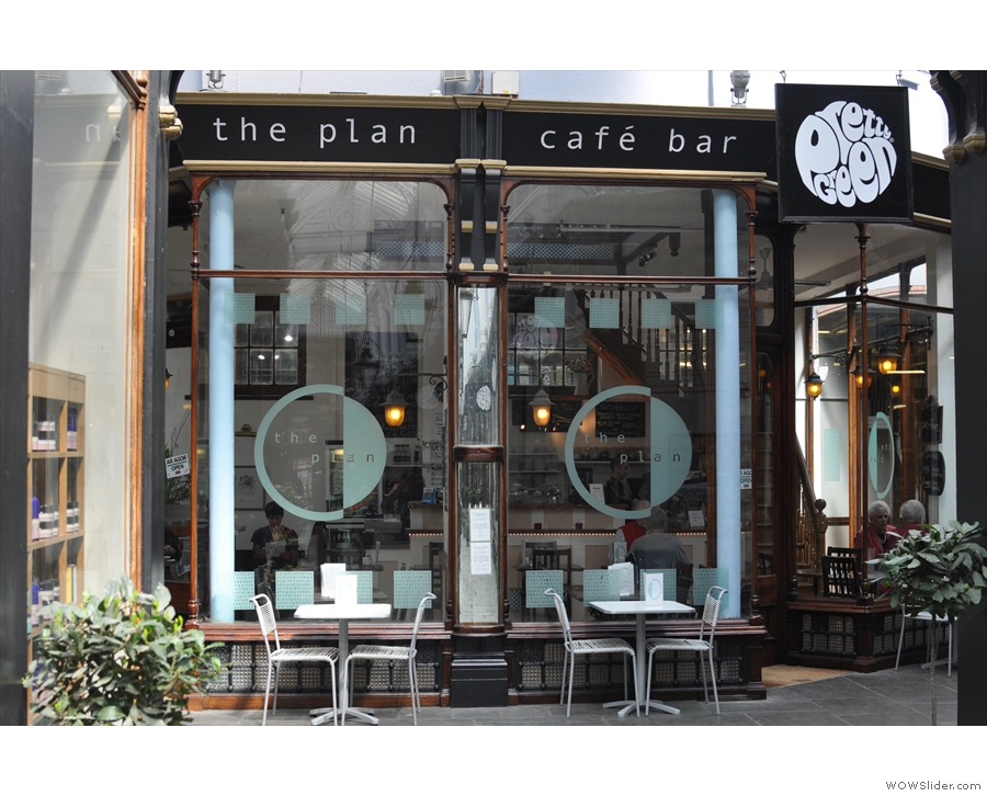 Other examples come from Trevor, of The Plan Cafe in Cardiff and...