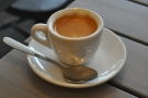 I then followed it up with a shot of the guest espresso, a single-origin from El Salvador.