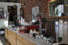 Next comes the espresso machine...