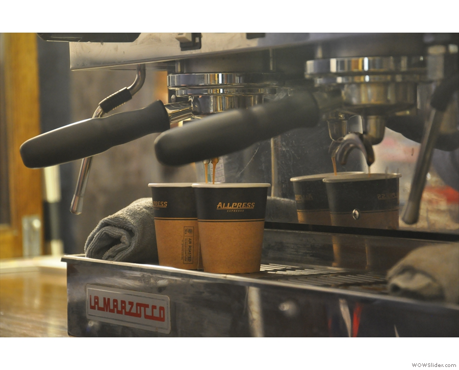 ... is particularly good for letting you watch the espresso being made.