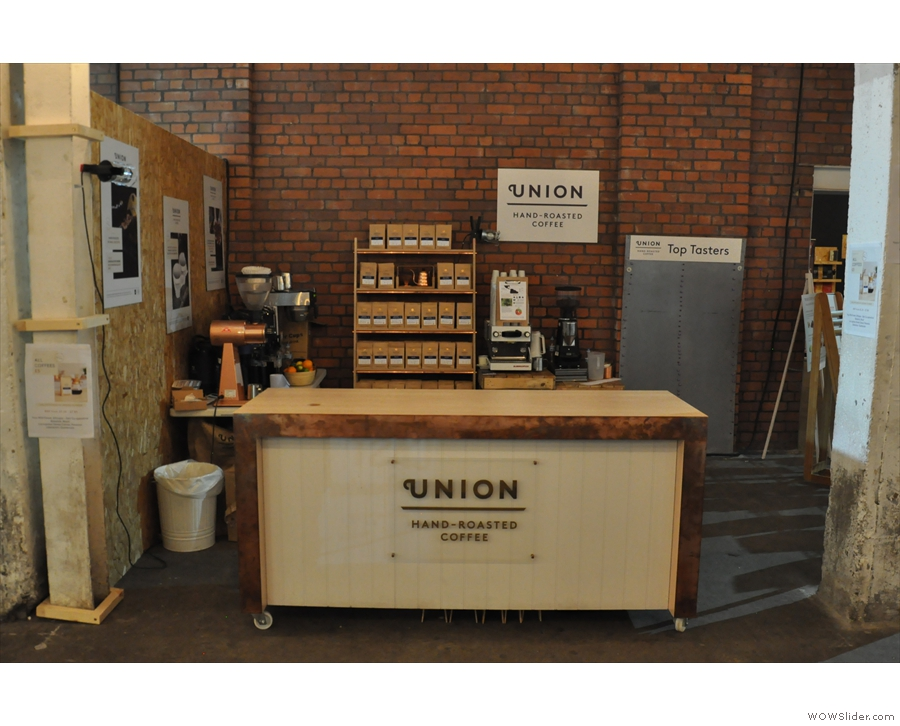 Finally, there was Union Hand-roasted, which I failed utterly to get to...