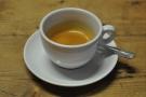 And finally, I tried the house-blend espresso.