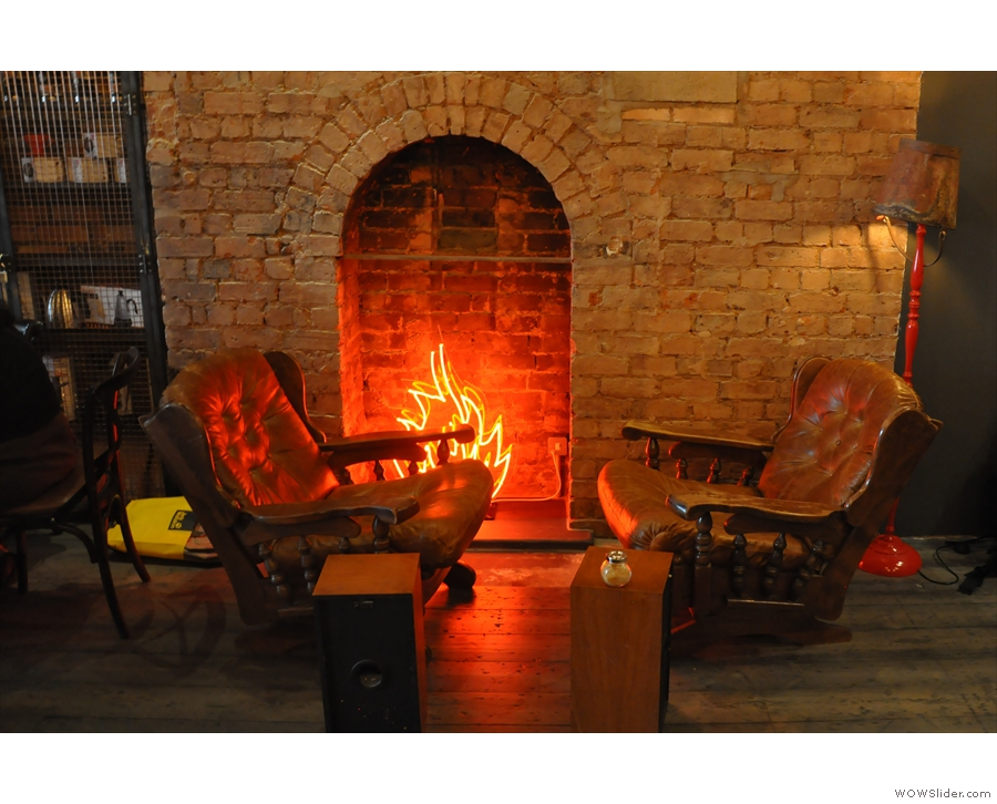 January: take a seat by the fire at 200 Degrees, Birmingham.