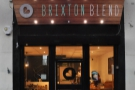 Brixton Blend, newly-opened on Tunstall Road, just across from Brixton Tube Station.