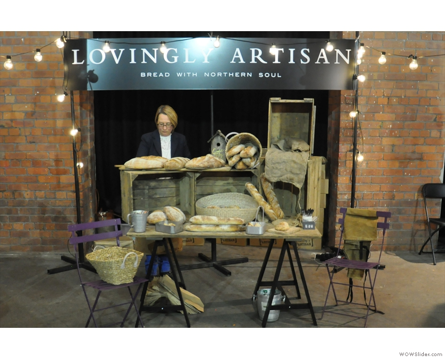 Moving onto more savoury things, I met the folks from Lovingly Artisan for the first time.