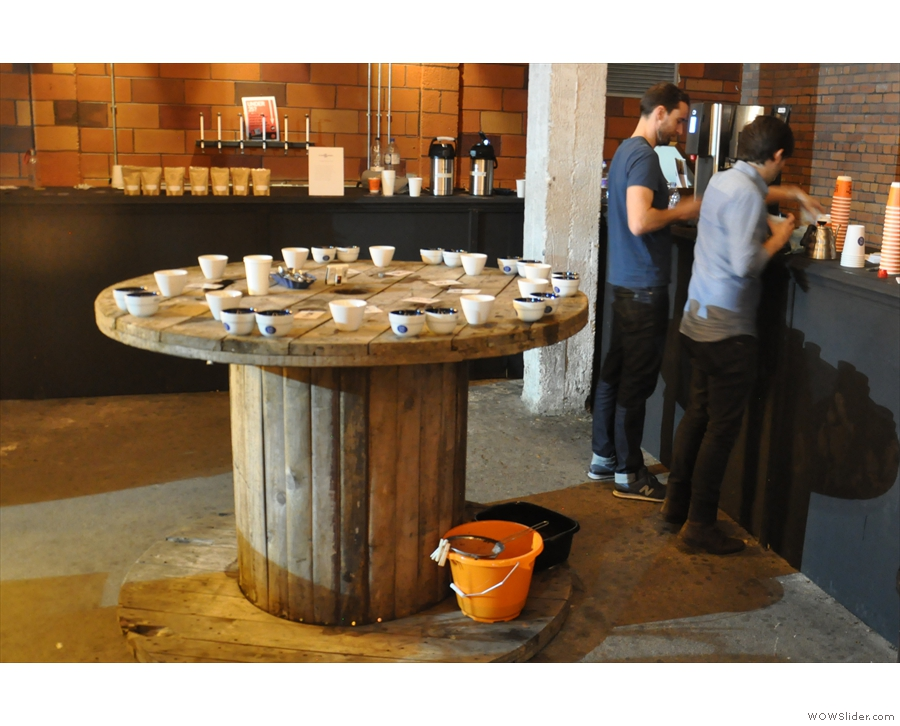 My final activity in the festival was to attend a cupping being run by OCN.