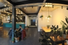 A panoramic view from just inside the door. Things have changed quite a bit!