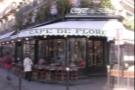 Cafe de Flore looking unusually quiet on a sunny December day in 2009