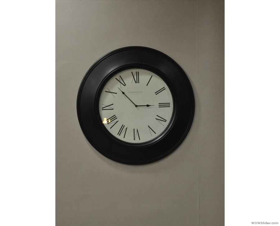 Nice clock.