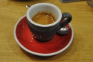 ... while this is an espresso, both from my visit in 2014.