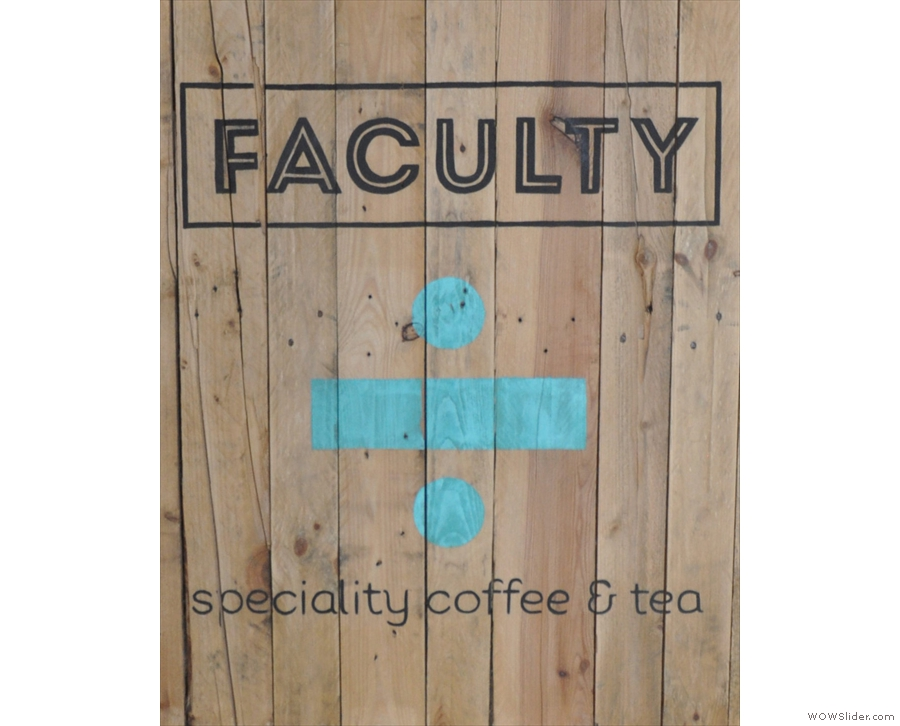 Birmingham's Faculty, which has yet to let me down when it comes to filter coffee.