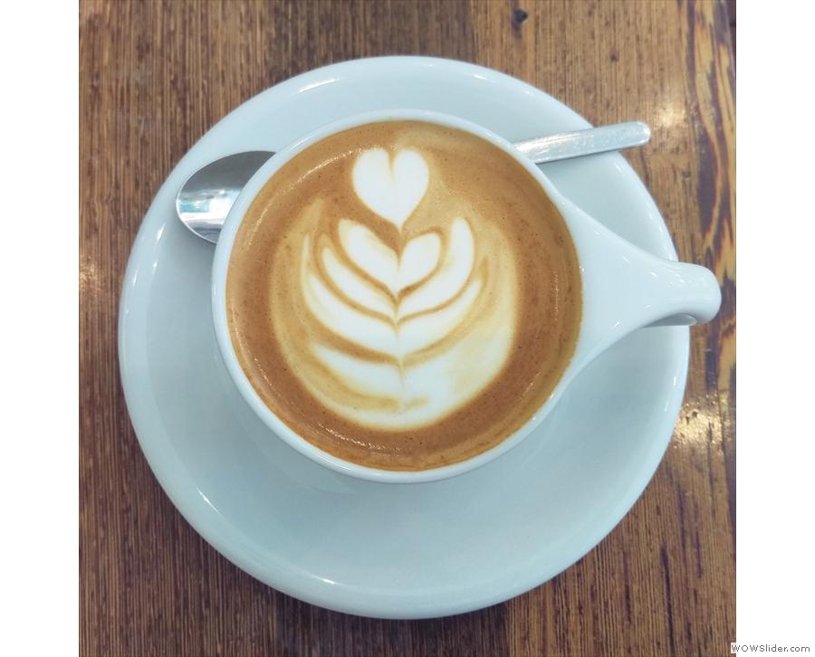 Copenhagen's Forloren Espresso, which, despite the name, serves an awesome pour-over.