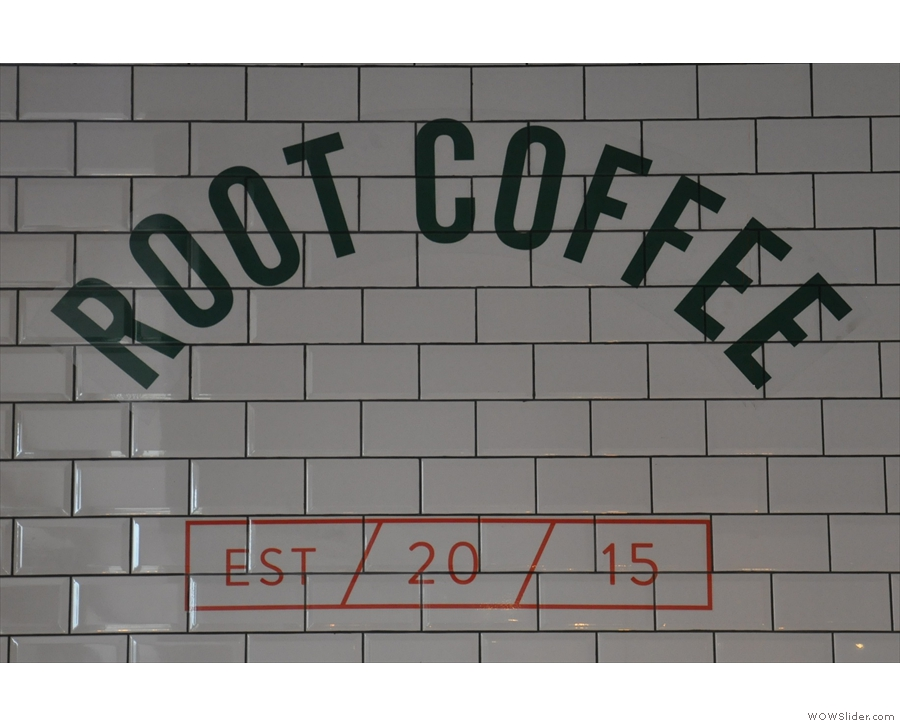 Root Coffee, Liverpool, which has an interesting take on preparing its V60s.
